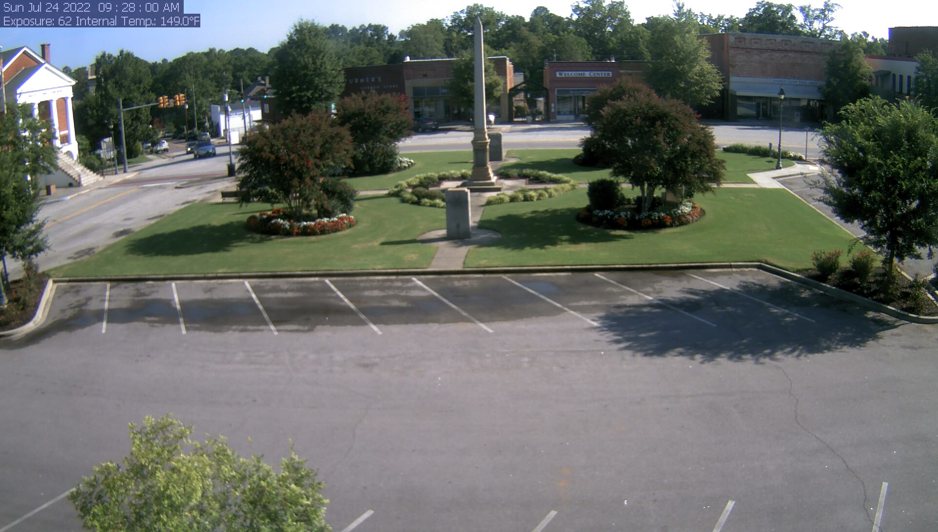 Edgefield Sc Town Square Live Webcam Weather