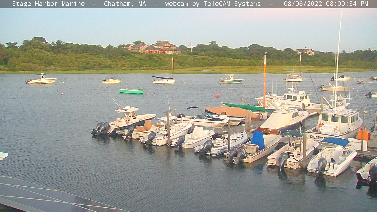 Chatham Webcam: Stage Harbor